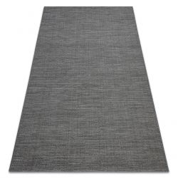 Carpet SISAL FORT 36201094 grey plain color one-color melange
