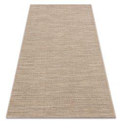 Alfombra sisal FORT 36201082 beige melange uniforme de un color