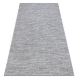 Килим шнуровий SIZAL FORT 36203053 сірий рівномірний гладкий одноколірний