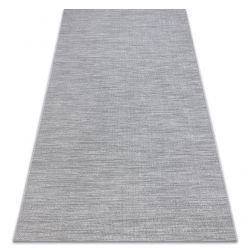 Koberec FORT SISAL 36203053 šedá jednotná hladká jednobarevná