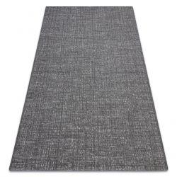 Alfombra sisal FORT 36203094 gris uniforme liso de un color