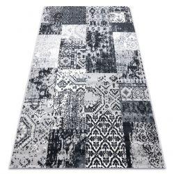 Tappeto Vintage 22216356 griggio patchwork