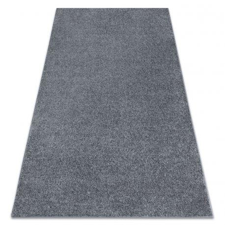Teppich Teppichboden SANTA FE grau 97 eben, glatt, einfarbig