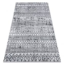 Carpet Structural SIERRA G6042 Flat woven beige / cream - geometric, ethnic
