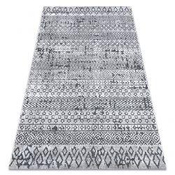 Tappeto Structural SIERRA G6042 tessuto piatto beige / crema - geometrico, etnico