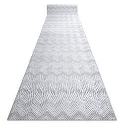 Пътека Structural SIERRA G5010 плоски тъкани сив - геометричен, зигзаг