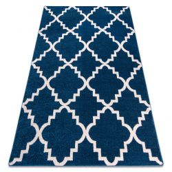 Carpet SKETCH - F343 blue /white trellis