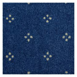 Wykładzina dywanowa CHAMBORD 077 niebieski