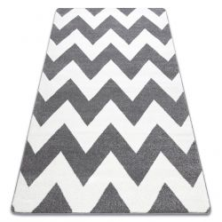 Carpet SKETCH - FA66 grey/white - Zigzag