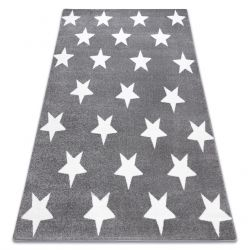 Ковер SKETCH - FA68 серо-белый - звезды