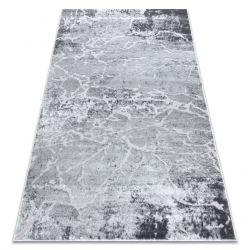 Modern MEFE carpet 6182 Concrete - structural two levels of fleece grey
