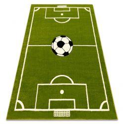 Pilly szőnyeg 4765 - zöld FUTBALLPÁLYA LABDÁK labda