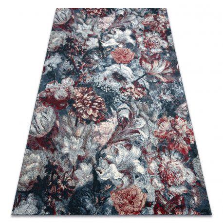 Tappeto HENT 78318192 fiori blu / chiaretto