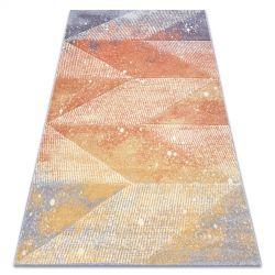 Килим FEEL 5756/17944 алмази бежевий/terracotta/фіолетовий
