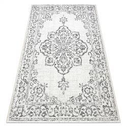 Carpet COLOR 47295960 SISAL Ornament cream / grey