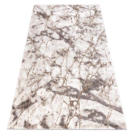Teppich OPERA 0A171A C86 28 Marmor - Structural zwei Ebenen aus Vlies hell beige / dunkelbeige