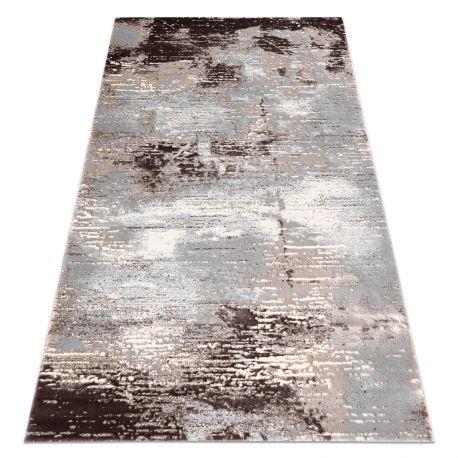 Teppich OPERA 0W8502 C83 32 Abstraktion - Structural zwei Ebenen aus Vlies beige / grau