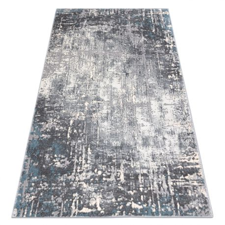 Carpet OPERA 0W9782 C85 25 - structural two levels of fleece grey / blue