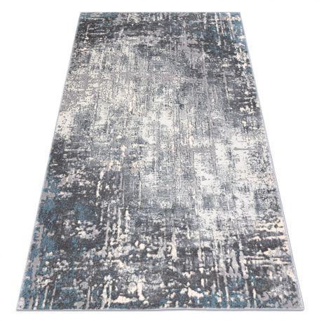 Teppich OPERA 0W9782 C85 25 - Structural zwei Ebenen aus Vlies grau / blau