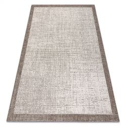 CARPET SIZAL FLOORLUX 20401 Frame champagne / taupe