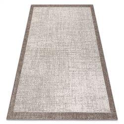 Fonott sizal floorlux szőnyeg 20401 Keret pezsgő / tópszín