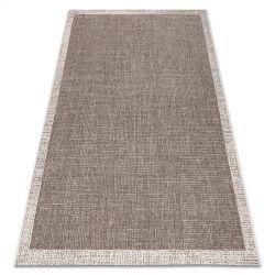 Fonott sizal floorlux szőnyeg 20401 Keret tópszín / pezsgő