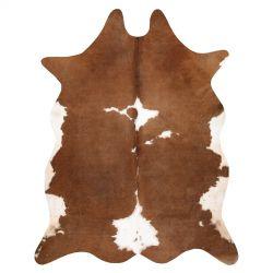 Килим Изкуствен кожух, крава G5070-2 кафяв бяла кожа