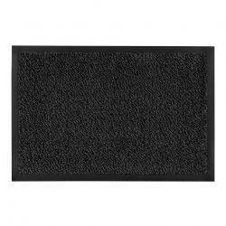 Придверний килим прорезинений PERU сірий