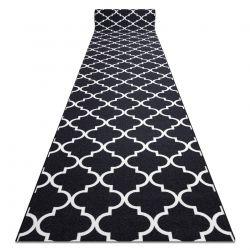 Csúszásgátló futó szőnyeg LÓHERE MAROKKÓI fekete Trellis 30350