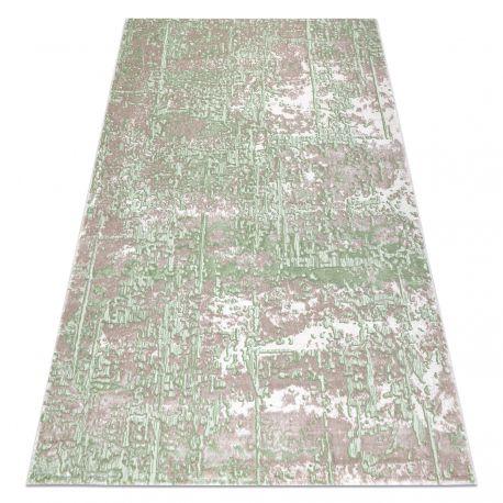 Teppich OPERA 0W9792 C89 57 Abstraktion - Structural zwei Ebenen aus Vlies beige / grün