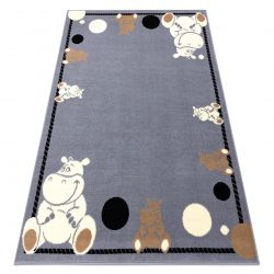 Carpet BCF FLASH Hippo 3993 - grey