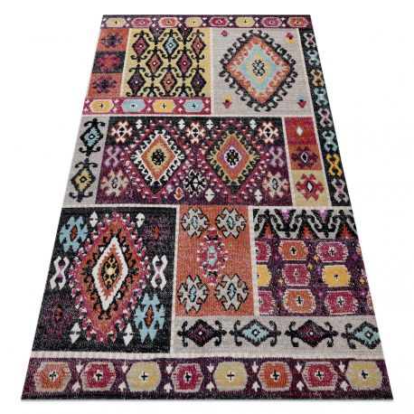 Carpet SAMPLE SOPHIE D7682 Boho - red