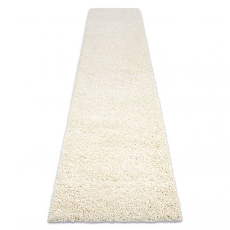 Běhoun SOFFI shaggy 5cm krém - do kuchyně, předsíně, chodby, haly