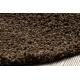 Koberec SOFFI shaggy 5cm hnědý
