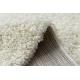 Carpet SOFFI shaggy 5cm cream