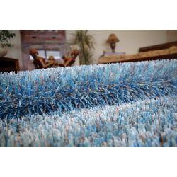 Dywan SHAGGY CORDOBA niebieski