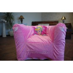 Inflatable PVC CHA DISNEY CINDRELLA pink