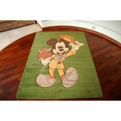 Carpet MICKEY MOUSE green