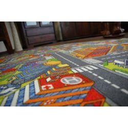 Moqueta Carreteras BIG CITY gris