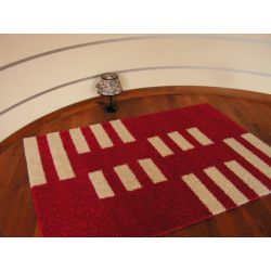 Carpet JAZZY BEAT red