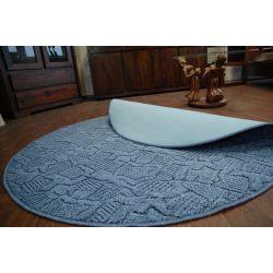 Teppich kreis MESSINA 076 blau