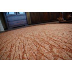 Teppich kreis FLOW 956 Terrakotta