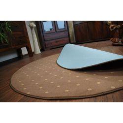 Carpet circle CHIC 144 brown