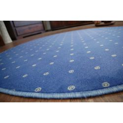 Carpet circle CHIC 178 blue