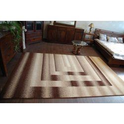 Teppich KARAMELL LOBI braun
