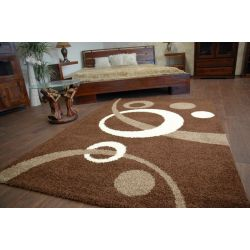 Carpet JAZZY SENSO dark brown