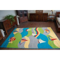 Alfombra FUNKY FIT color lima