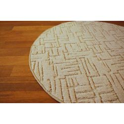 Carpet circle KASBAR cream