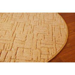 Koberec kruh KASBAR zlato