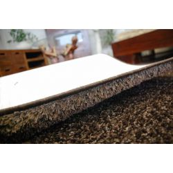 Fitted carpet SHAGGY CARNIVAL 44 brown